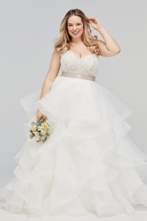 WTOO 16140B Bree Lace Plus Size Wedding Corset