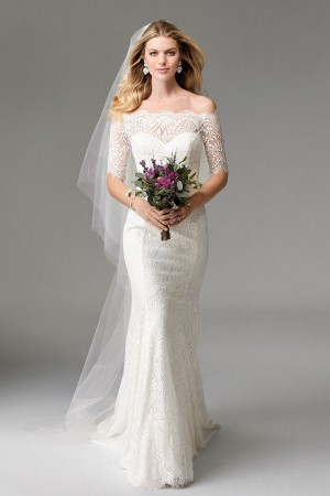 Modest wedding dresses and conservative bridal gowns wtoo 17110 savannah wedding dress junglespirit Choice Image