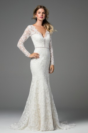 Modest wedding dresses and conservative bridal gowns wtoo 18117b anastasia wedding dress junglespirit Choice Image