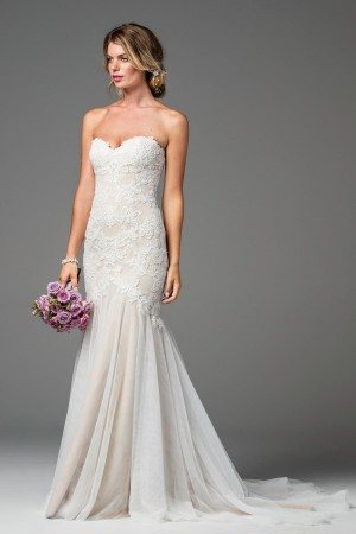 WTOO 18724 Lapis Wedding Dress