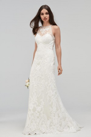 WTOO 19104 Aquila High Neck Wedding Dress