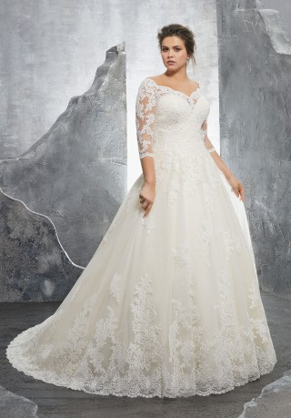 Plus Size Wedding Dresses | Long, Short and Tea Lenght ...
