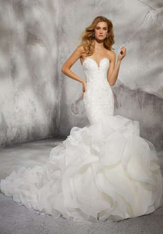 Mermaid Wedding Dresses And Trumpet Style Gowns Madamebridal