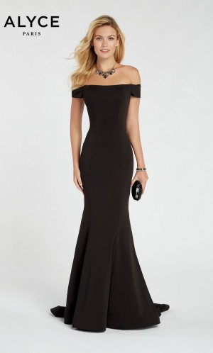 Alyce Paris 60294 Off-the-Shoulder Prom Gown