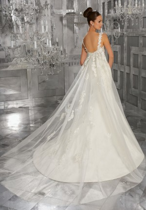 Mori Lee 11272 Wedding Train