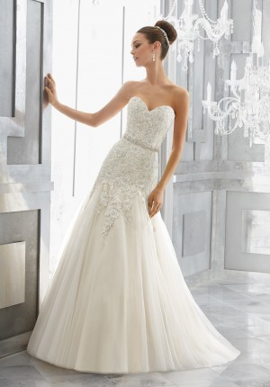 Mori Lee 5566 Maura Wedding Dress
