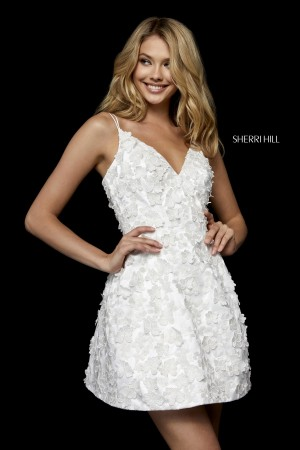 Sherri Hill 52198 Double Strap Cocktail Dress