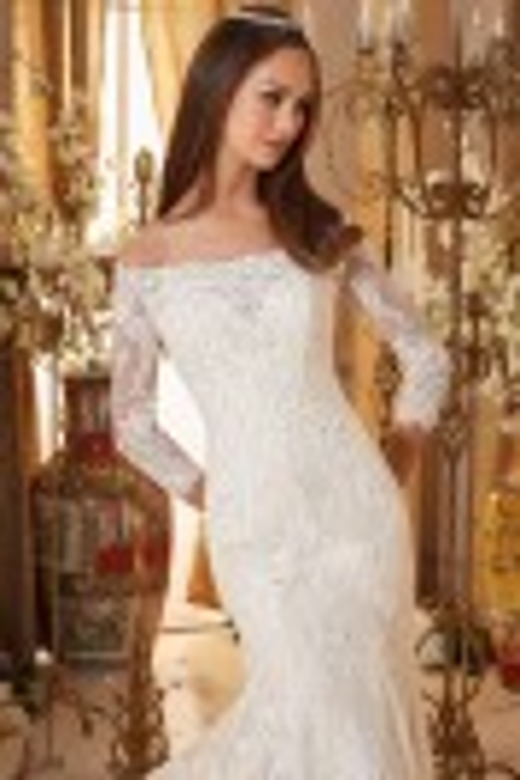 Mori Lee Blu 5477 Wedding Dress