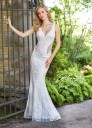 Enchanting by Mon Cheri 118150 Scoop Back Destination Wedding Gown