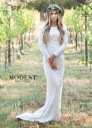 Modest Bridal by Mon Cheri TR11832 Bateau Neckline Wedding Dress