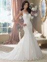 Martin Thornburg for Mon Cheri 214207 Aly Wedding Gown