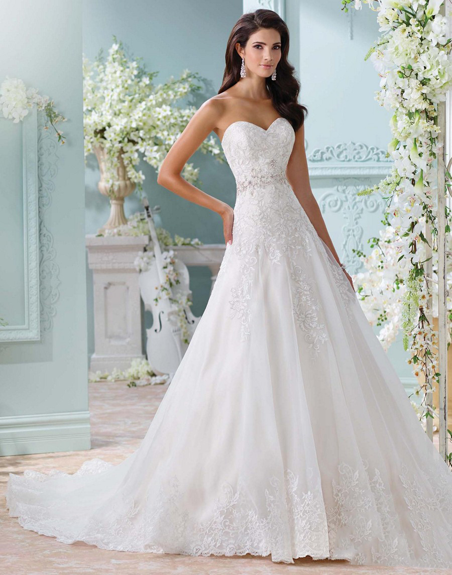 Martin thornburg for mon cheri 116210 laina wedding gown for David tutera beach wedding dresses