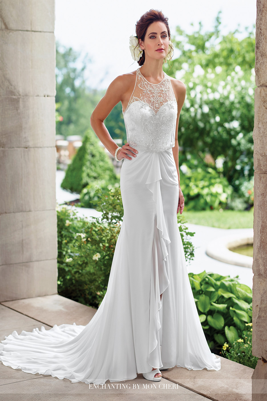 Enchanting by mon cheri 117192 wedding dress for Mon cheri wedding dresses