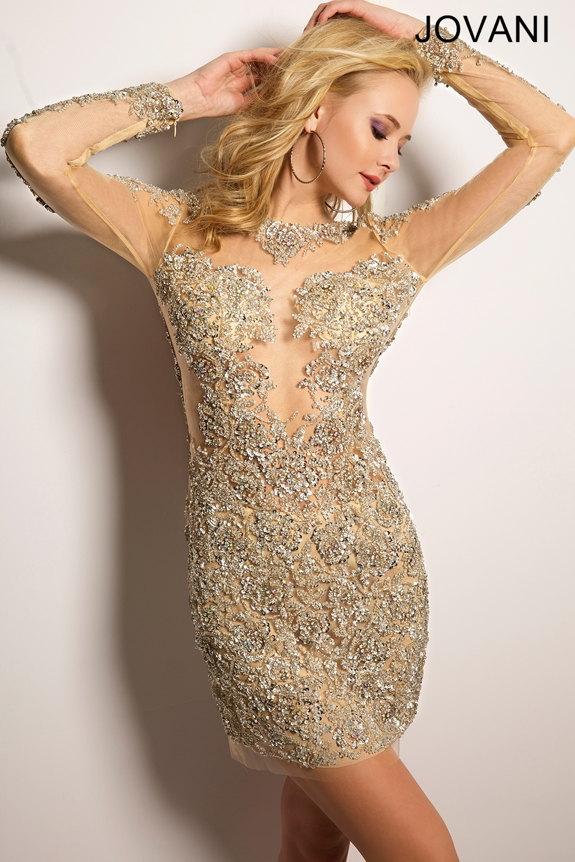 Jovani 21531 Short Dress