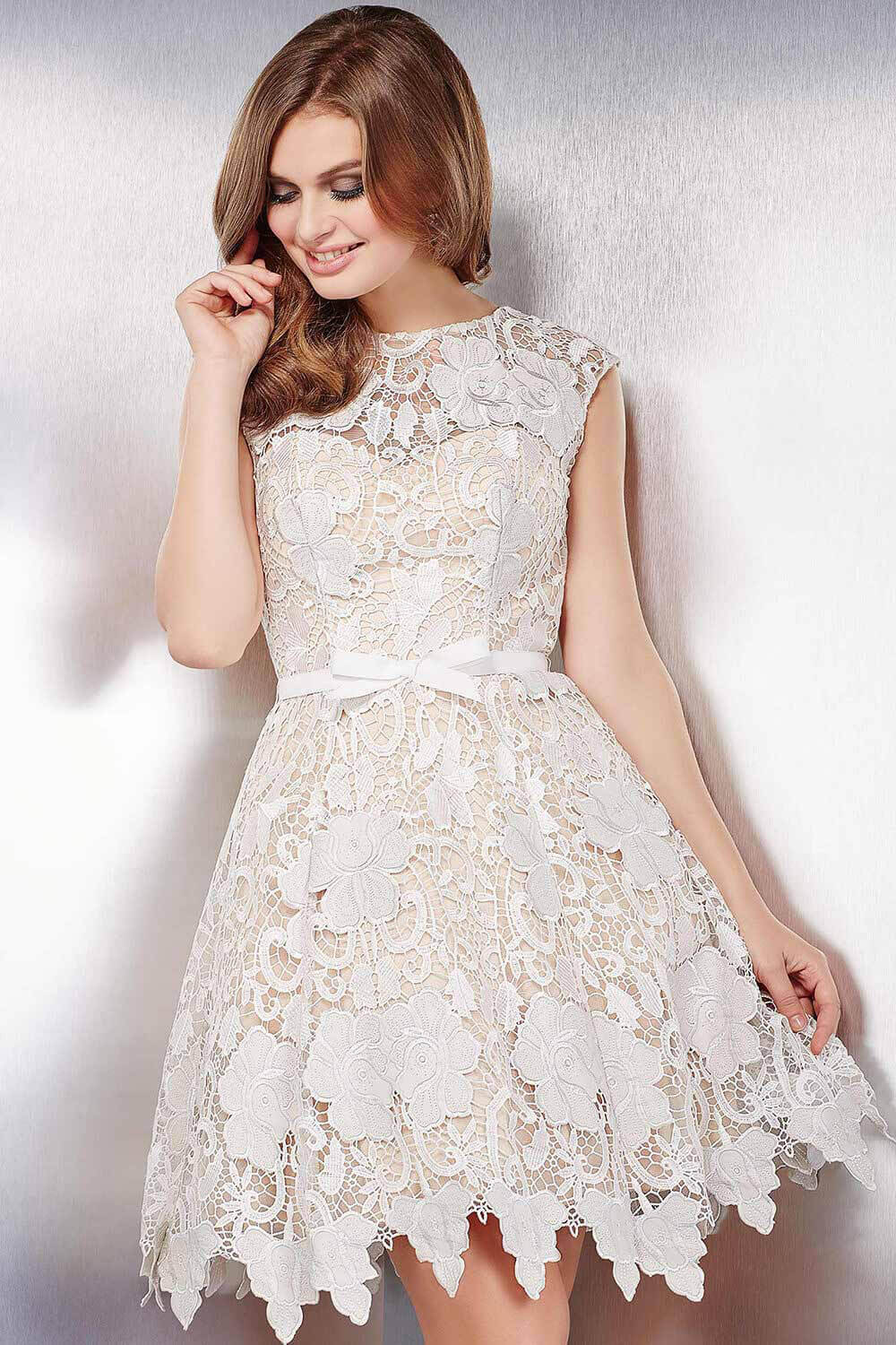 Wedding White Lace Short Dress white lace short dress photo album fashion trends and models collection pictures models