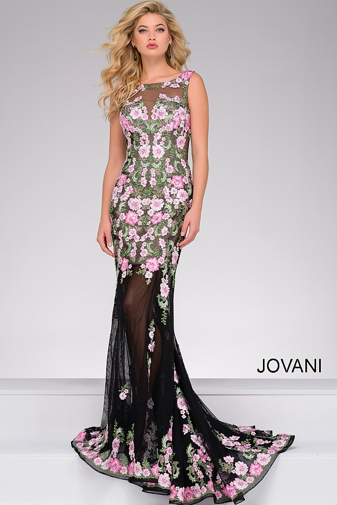 Jovani 45250 Prom Dress | MadameBridal.com