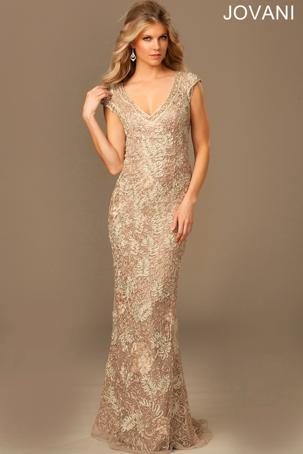 Plus size evening gowns for mother of the bride