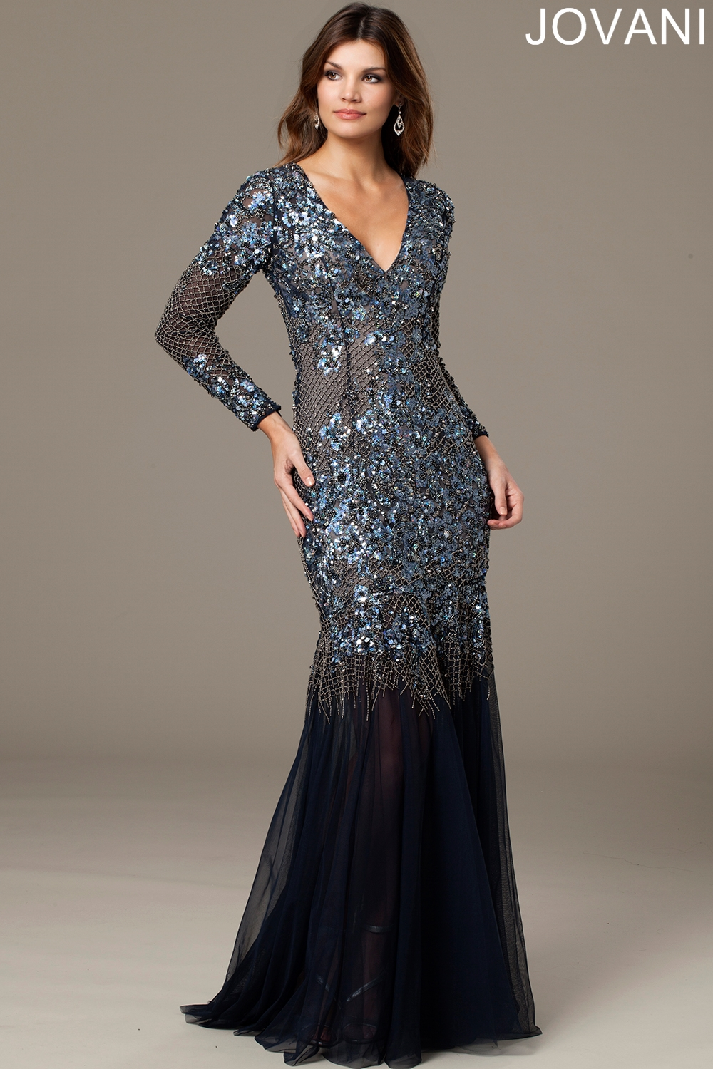 Jovani 93764 Evening Dress Sheer Back