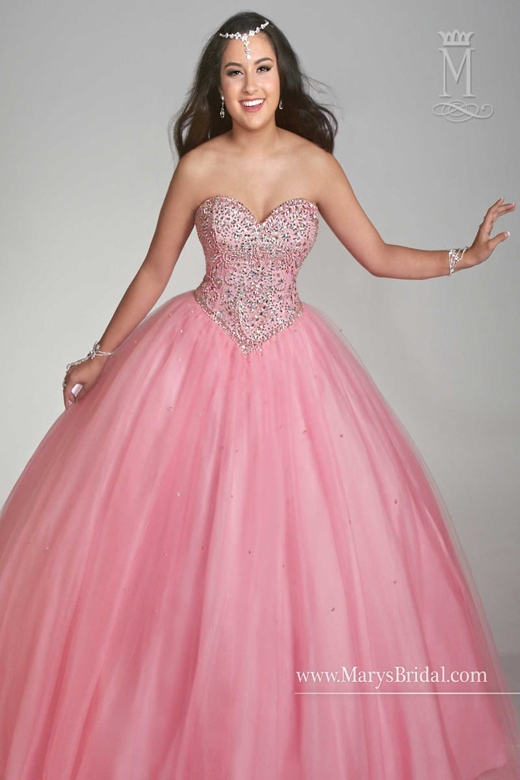 Marys Bridal Beloving 4752 Quinceanera Dress