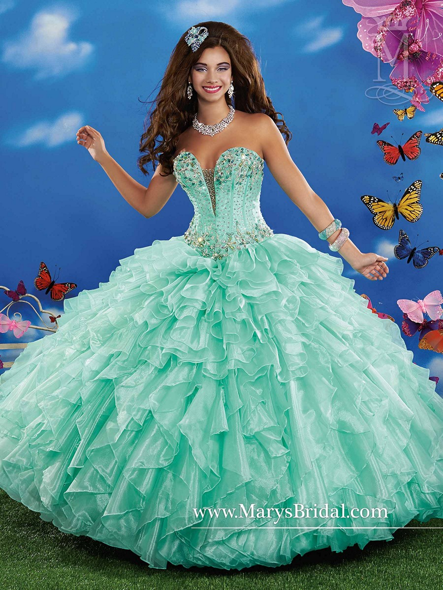 Marys Bridal 4q340 Quinceanera Dress Madamebridal Com