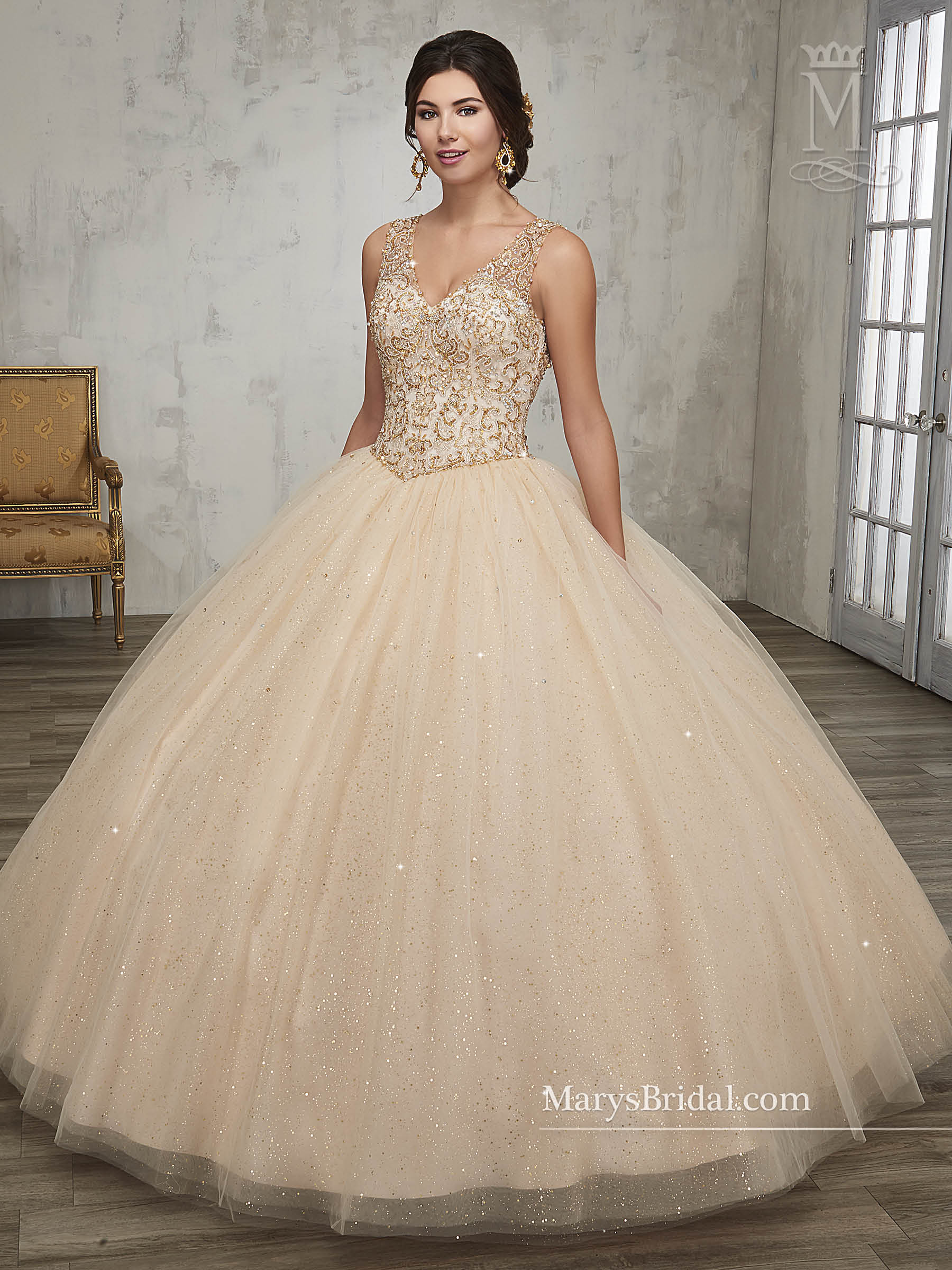 Marys Bridal 4q511 Quinceanera Dress Madamebridal Com