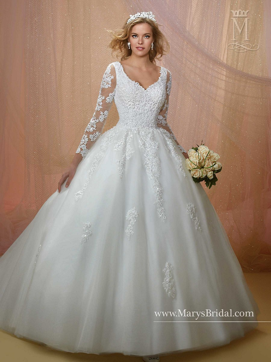 Marys Bridal 6455 Wedding Dress