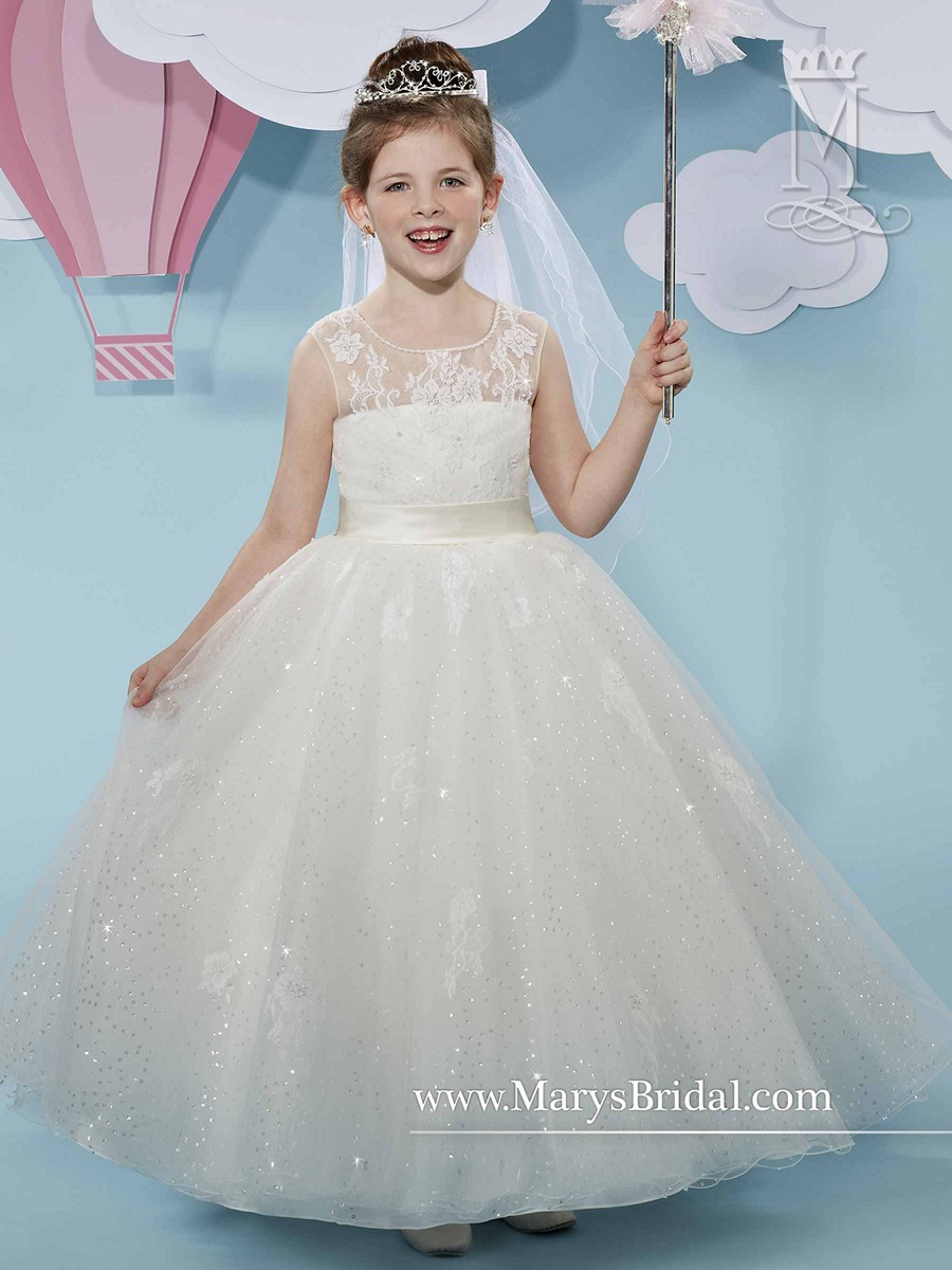 Marys Bridal F519 Flower Girl Dress