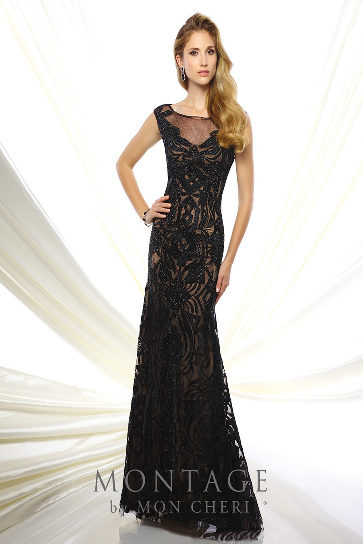 Montage By Mon Cheri 116951 Evening Dress Madamebridal Com