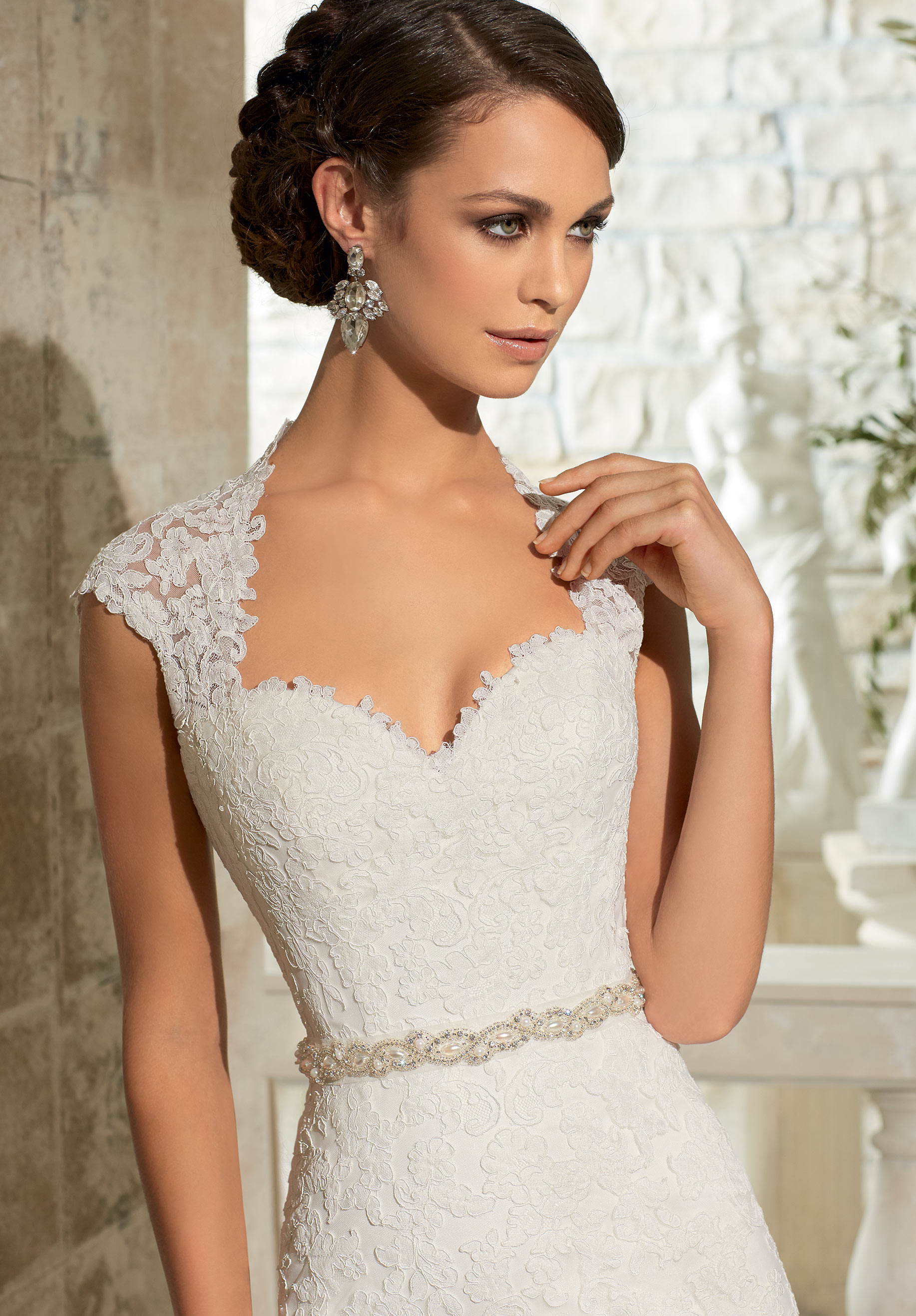 Mori Lee 11073 Wedding Dress Belt | MadameBridal.com