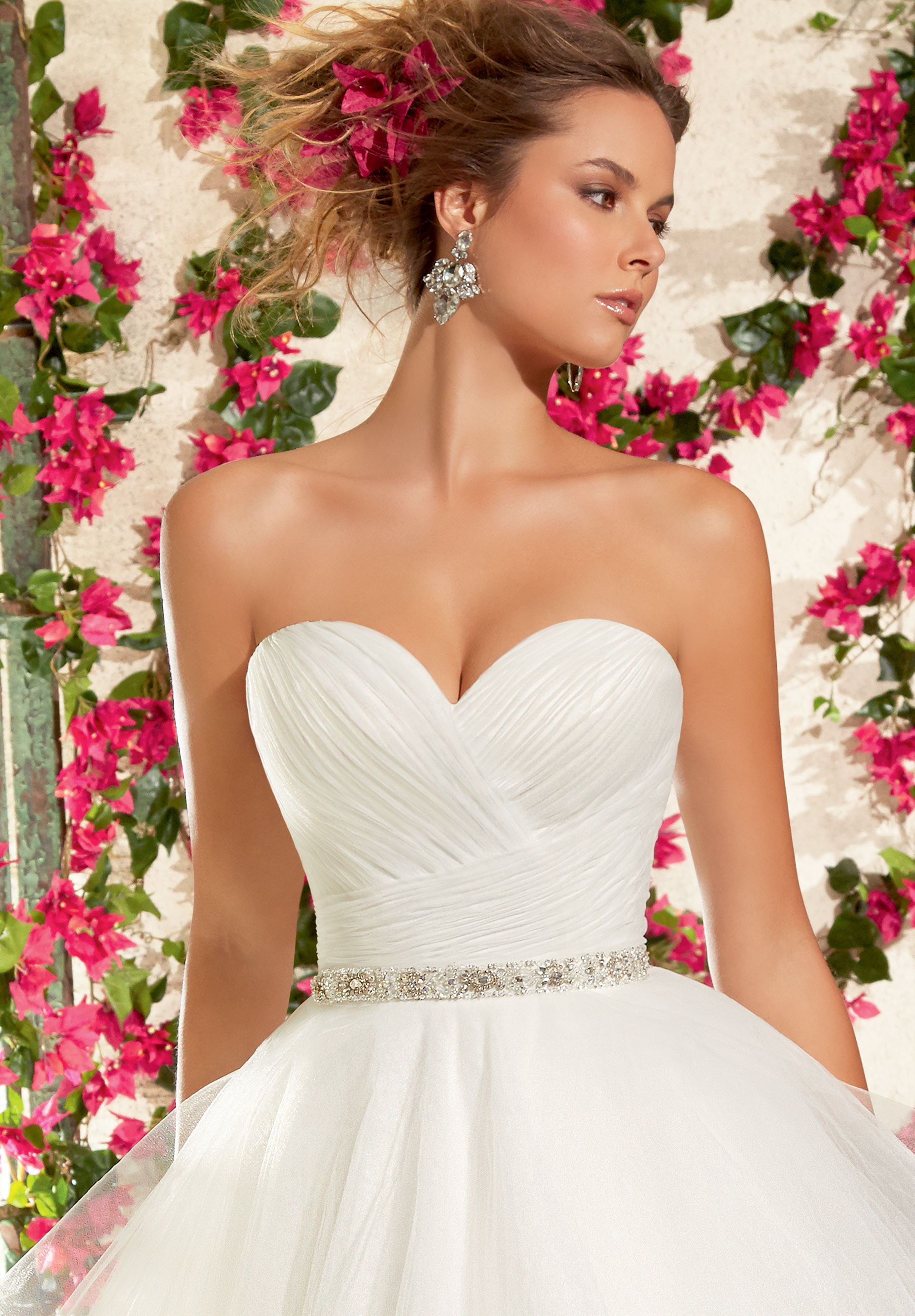 Mori Lee 11077 Wedding Dress Belt | MadameBridal.com