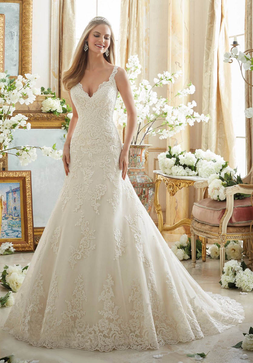 Mori lee 2890 wedding dress for Mori lee wedding dresses