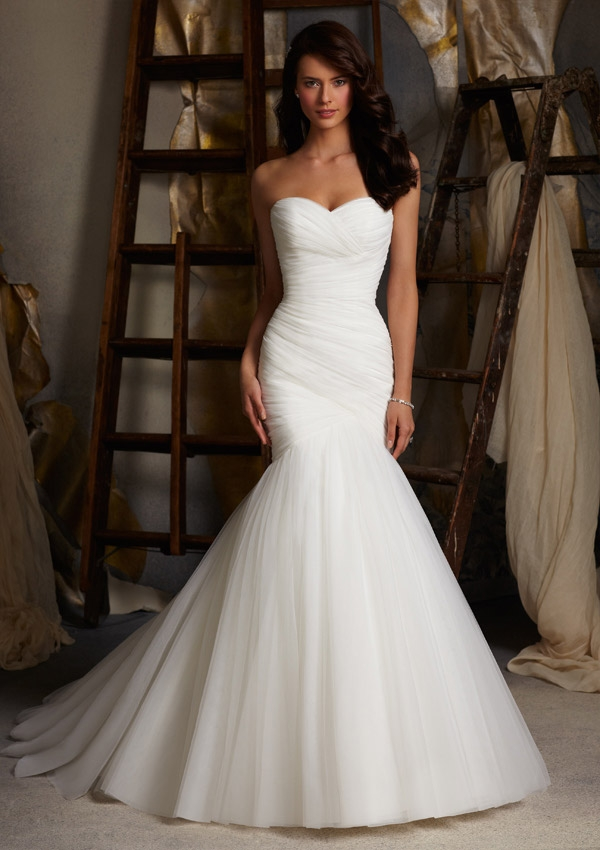 Mori Lee 5108 Quick Delivery Wedding Dress | MadameBridal.com