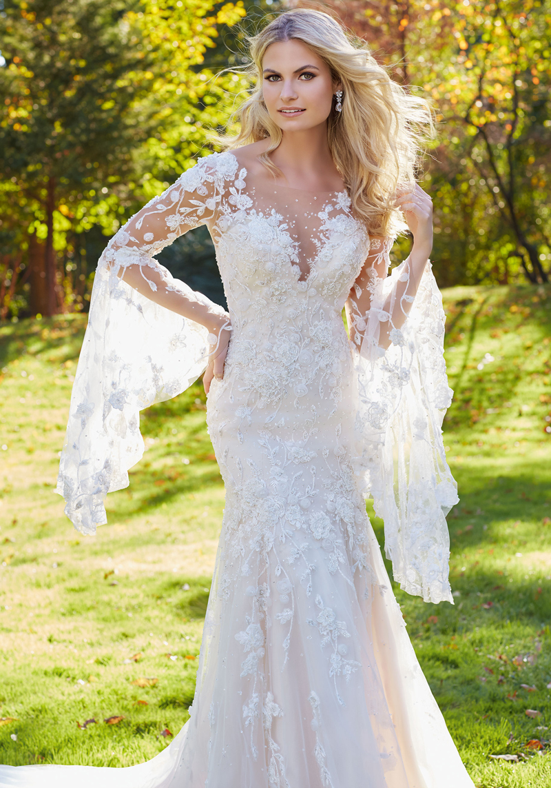Mori lee 8129 wedding dress for Mori lee wedding dresses