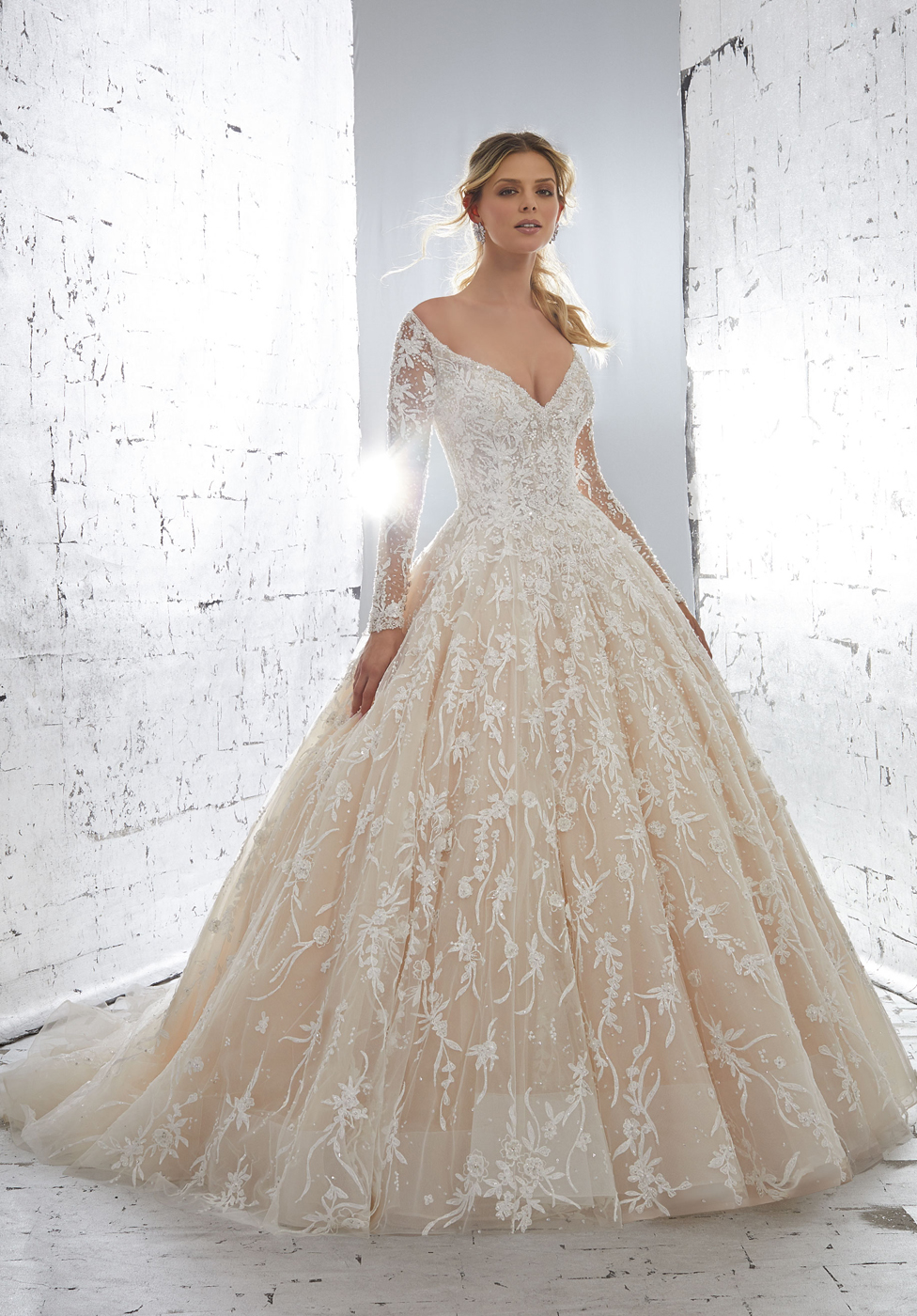 Mori Lee 82261 Kristalina Dress - MadameBridal.com