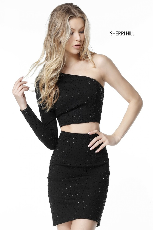 Sherri Hill 51326 Short Dress Madamebridal