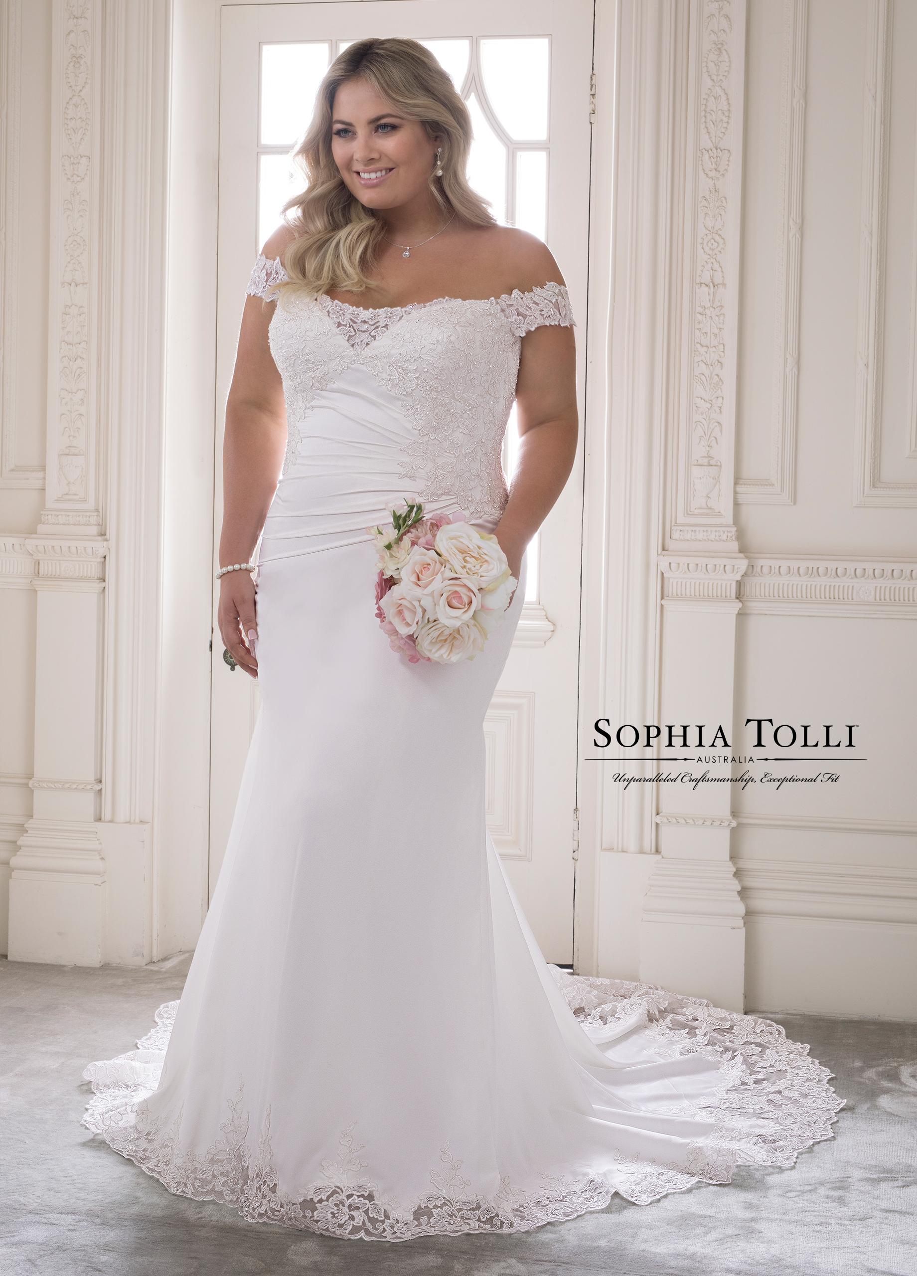 Sophia Tolli Y21820LS Jasper Dress - MadameBridal.com