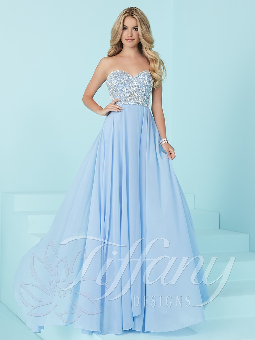 Tiffany Designs 16231 Prom Dress | MadameBridal.com
