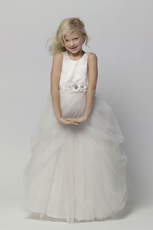 bbacdc8c5f2 Watters 44374 Junior Bridesmaid Dress