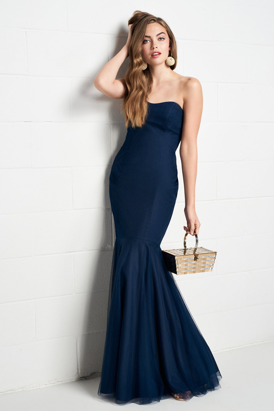 Bridesmaid dresses for every style and shape in your party wtoo 538 trumpet style bridesmaid dress ombrellifo Choice Image