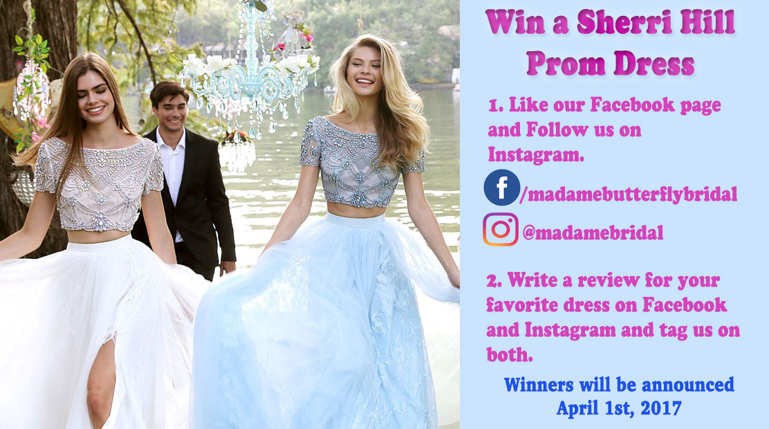 Win a Sherri Hill Prom Dress